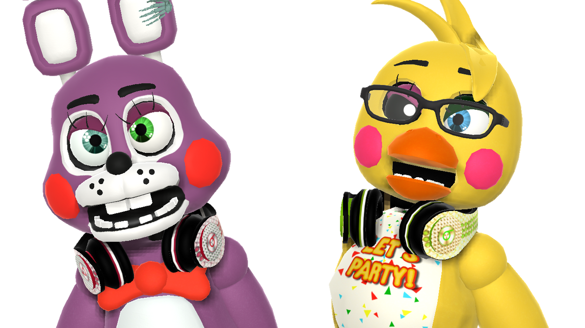 MMD FNAF Toy Bon Bon And Chica Oc By RendaMill On DeviantArt