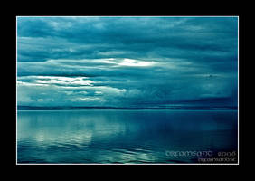 Blue stillness by DreamSand