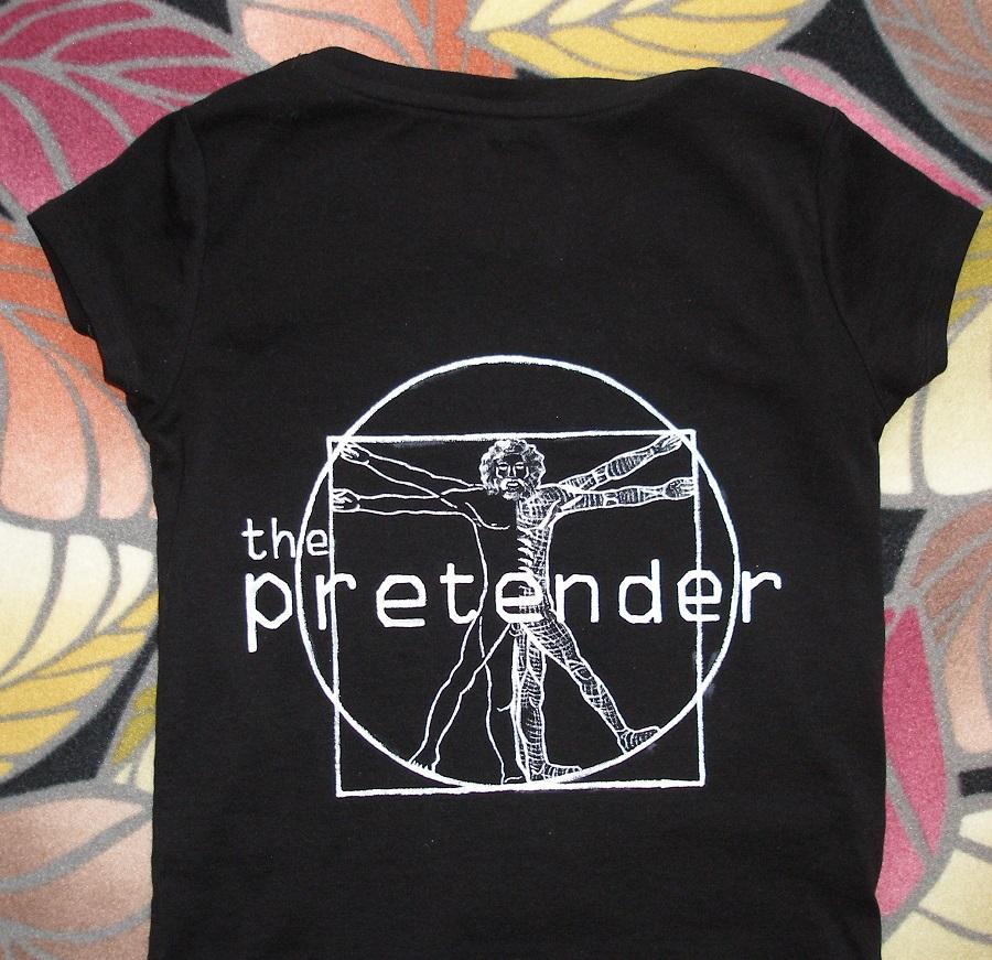 Pretender T-shirt by crawdadEmily
