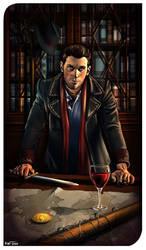 Fingal Darius, the Magician