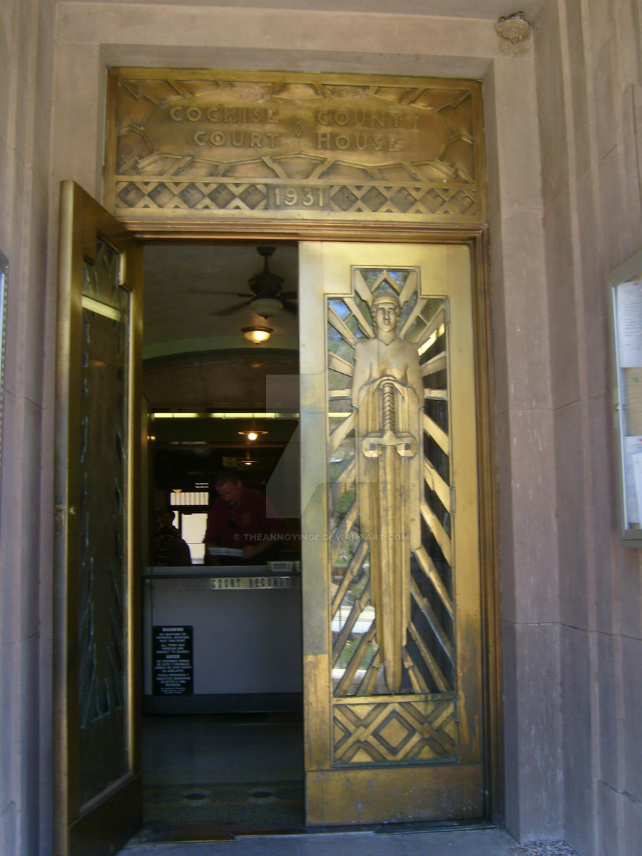 art deco courthouse doors by theannoyinge on deviantart