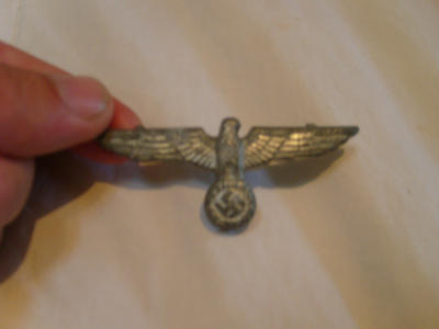 Wehrmacht Cap Eagle by theannoyinge