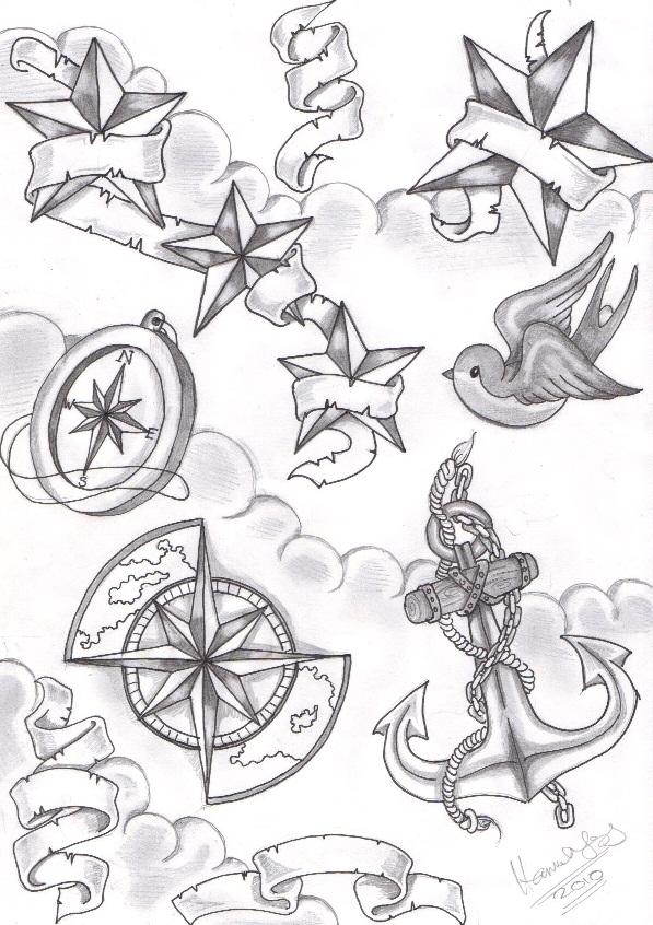 Nautical Flash 1 By Inkie Girl On Deviantart