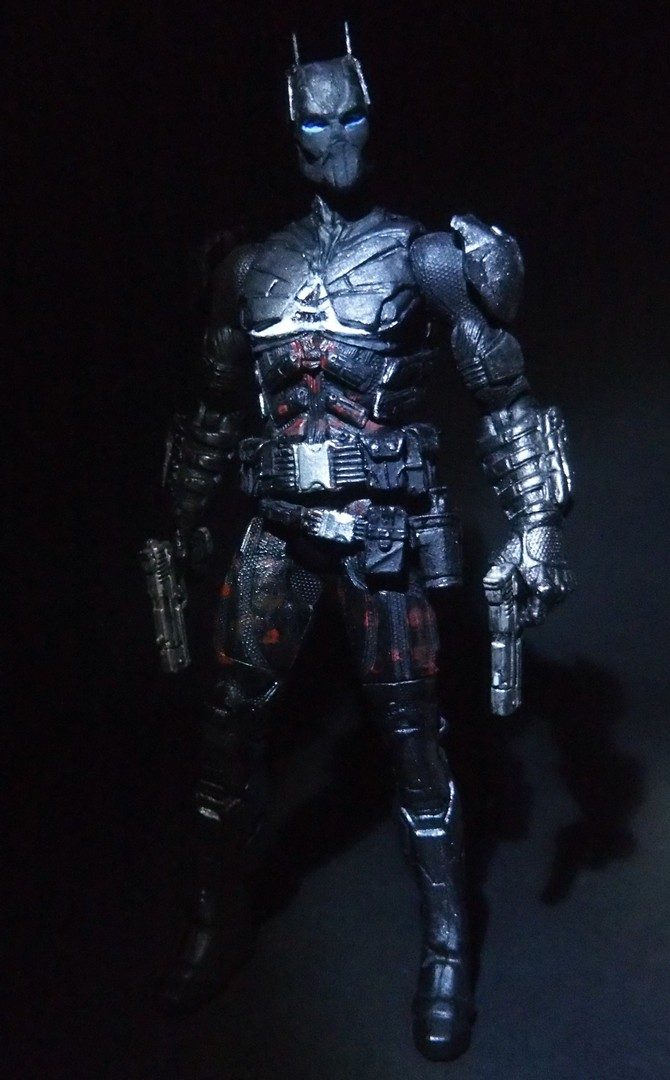 Arkham Knight custom action figure by Jedd-the-Jedi