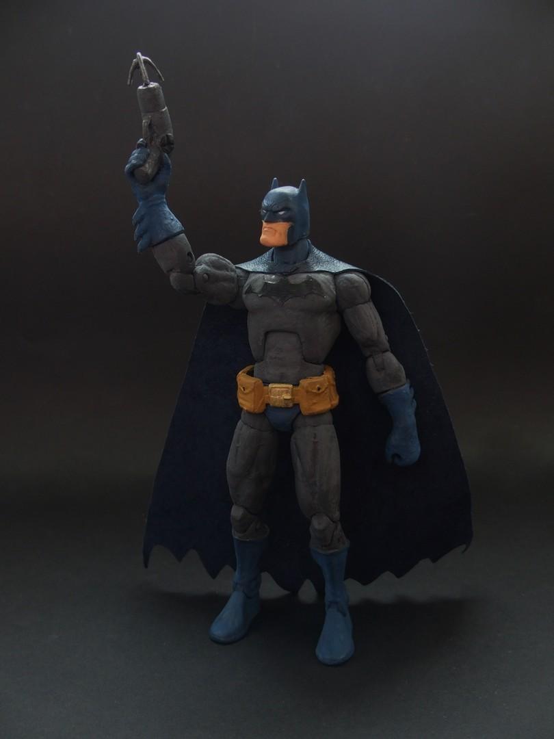 Batman Hush Custom Action Figure By Jedd The Jedi On Deviantart
