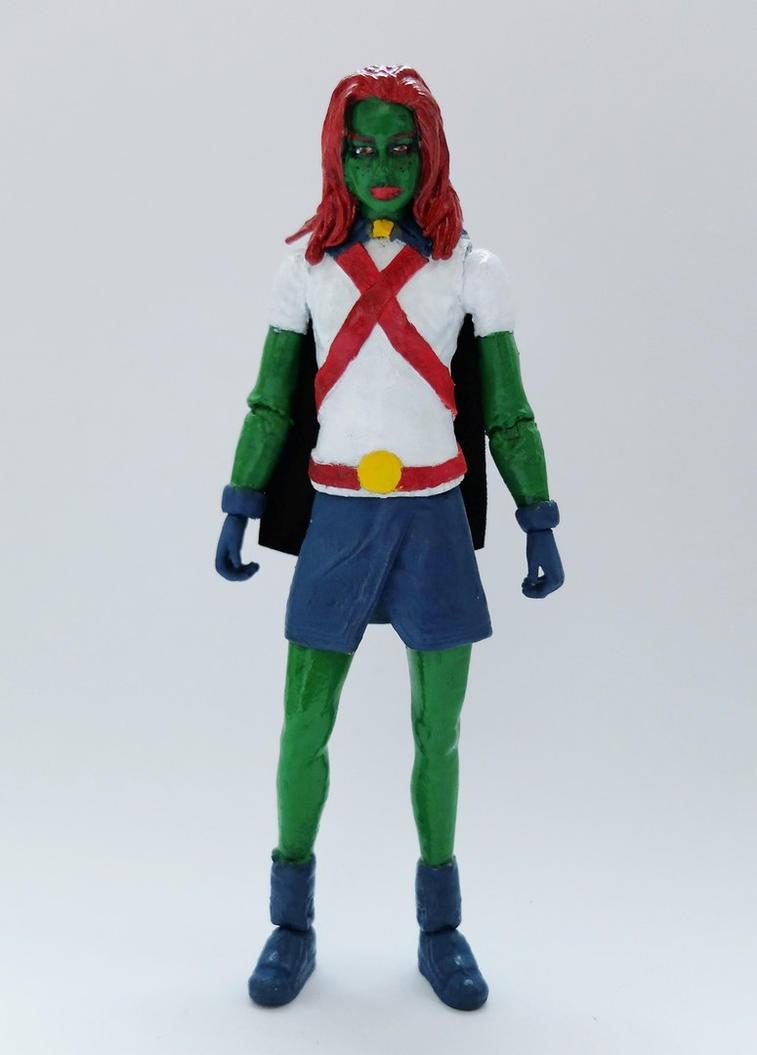 Miss Martian custom action figure by Jedd-the-Jedi