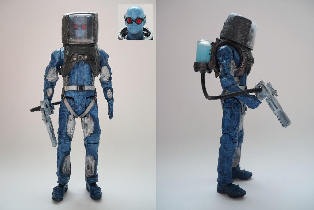 Mr. Freeze custom action figure by Jedd-the-Jedi