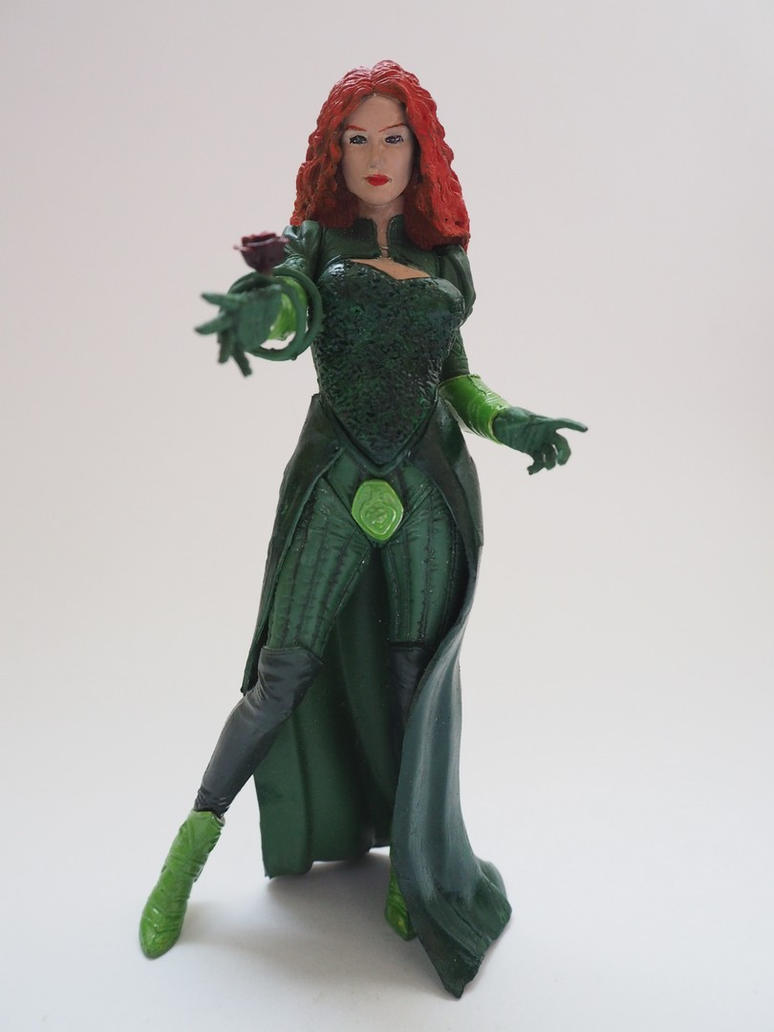 Poison Ivy Couture custom action figure by Jedd-the-Jedi