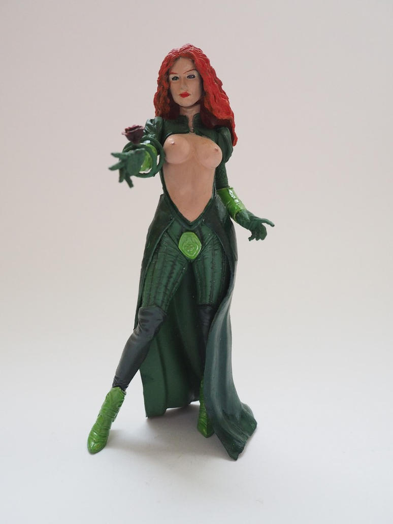Poison Ivy Couture custom action figure (topless) by Jedd-the-Jedi
