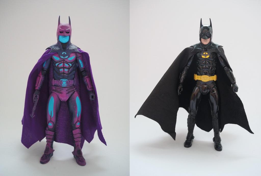 Batman 1989 action figure repaint by Jedd-the-Jedi