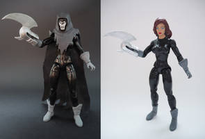 Phantasm (Andrea Beaumont) custom action figure by Jedd-the-Jedi
