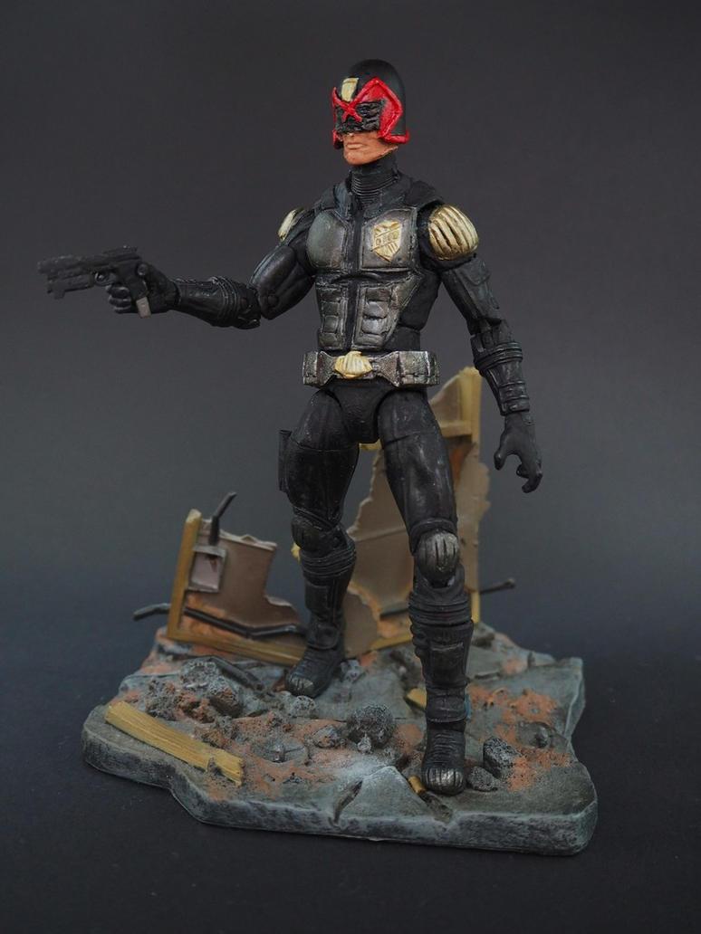 Judge Dredd custom action figure by Jedd-the-Jedi