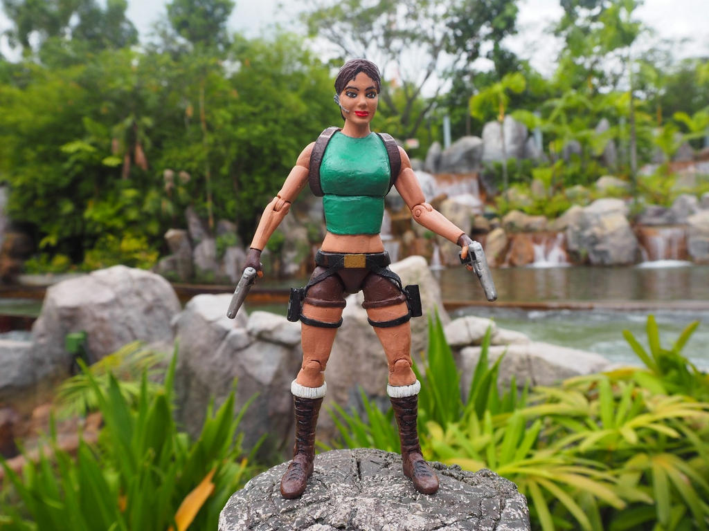 Lara Croft - The River Wild by Jedd-the-Jedi
