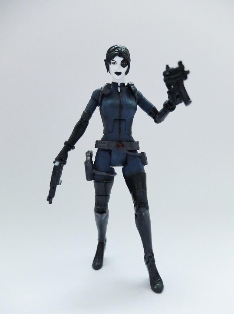 Domino custom action figure by Jedd-the-Jedi