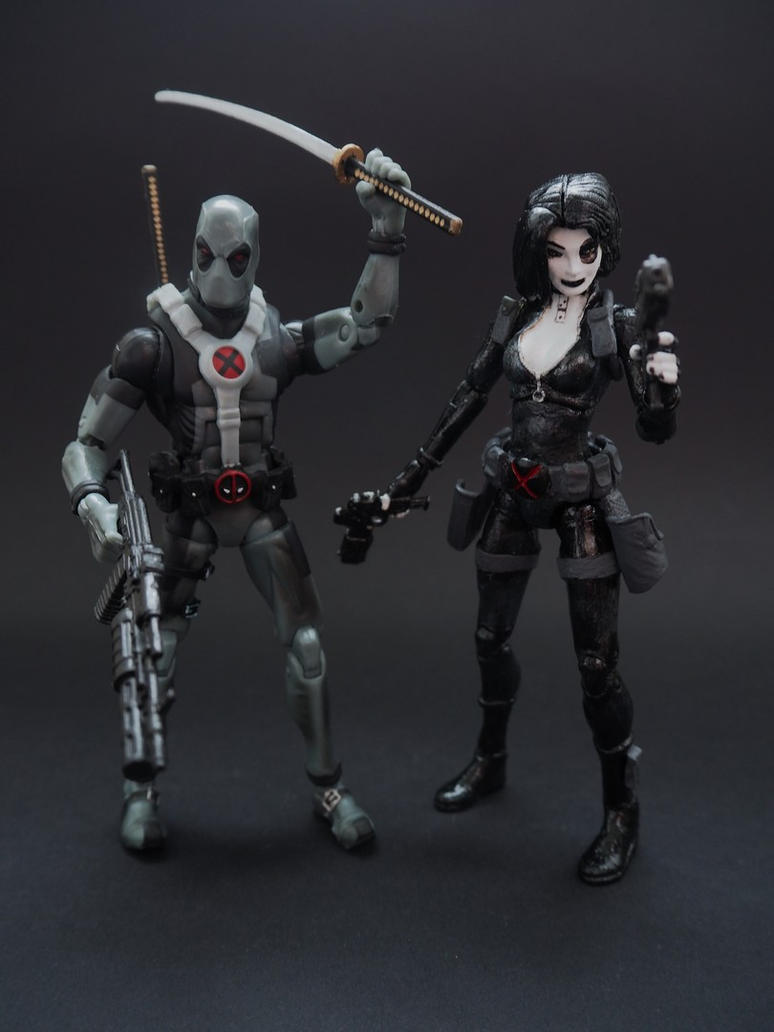 Deadpool and Domino: The XX by Jedd-the-Jedi