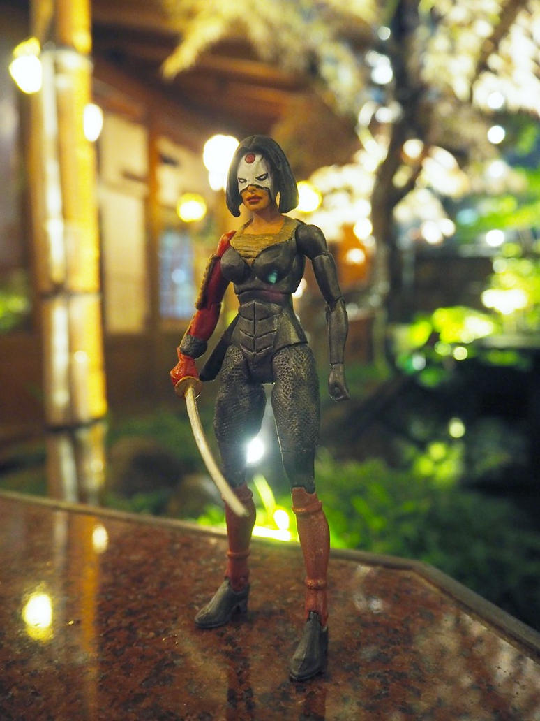 Katana custom action figure by Jedd-the-Jedi
