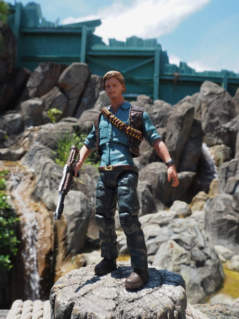 Owen Grady custom action figure by Jedd-the-Jedi