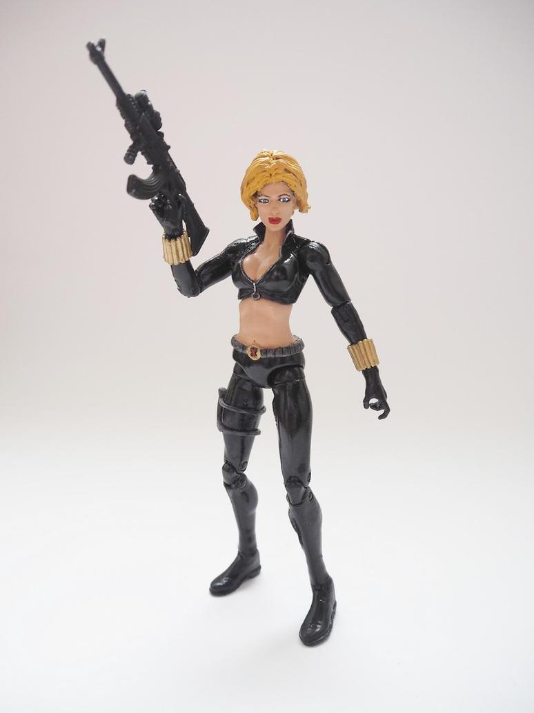 Black Widow (Yelena Belova) custom action figure by Jedd-the-Jedi