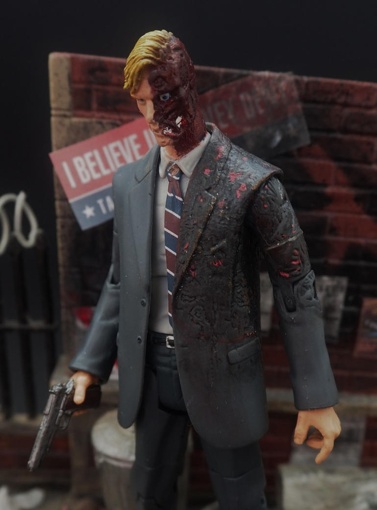 Two-Face (The Dark Knight) custom action figure by Jedd-the-Jedi