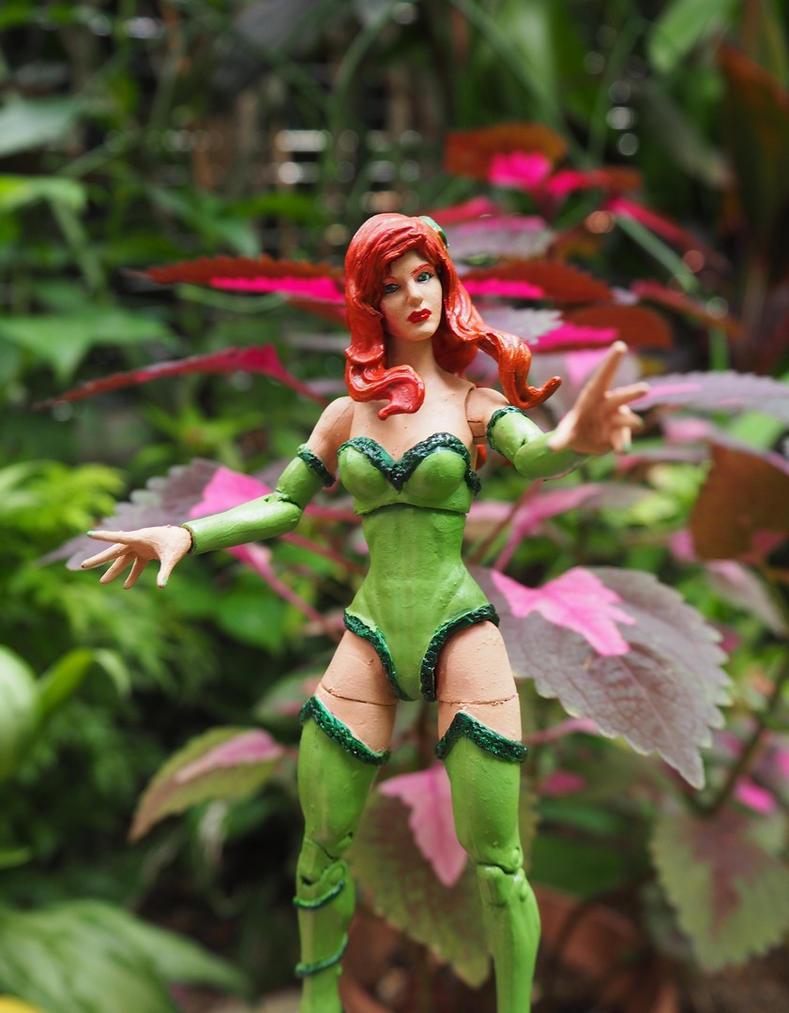 Poison Ivy custom action figure by Jedd-the-Jedi
