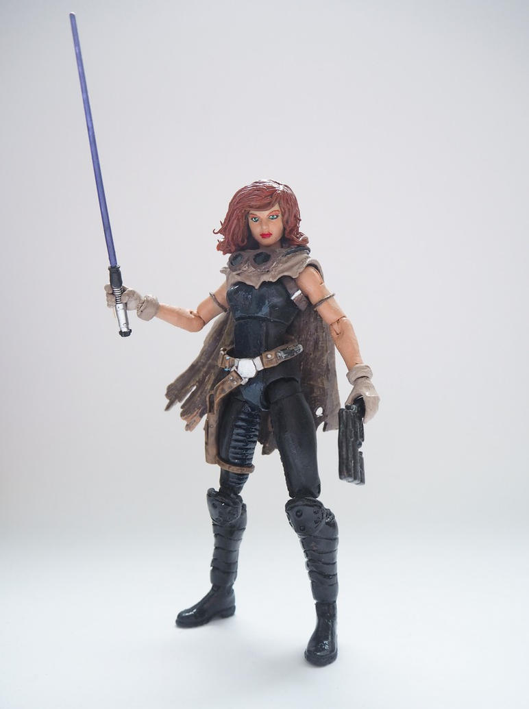 Mara Jade custom action figure by Jedd-the-Jedi