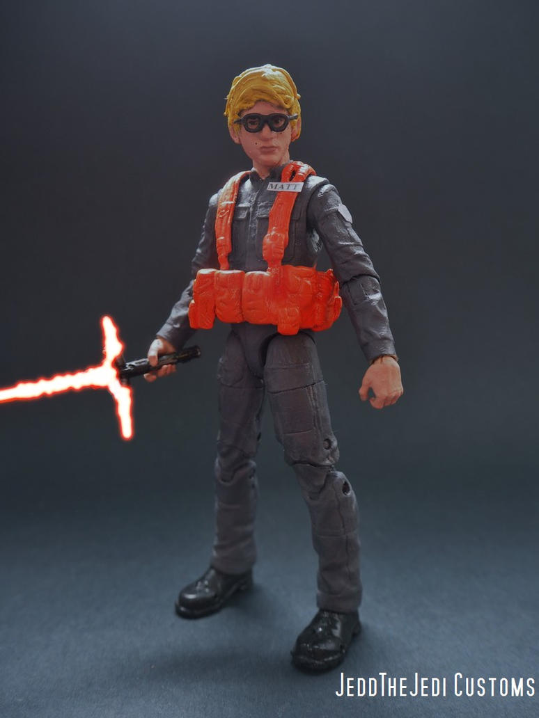 Radar Technician Matt (Kylo Ren) custom figure by Jedd-the-Jedi