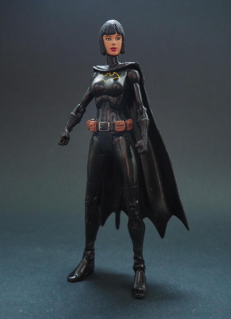Batgirl Cassandra Cain unmasked custom figure by Jedd-the-Jedi