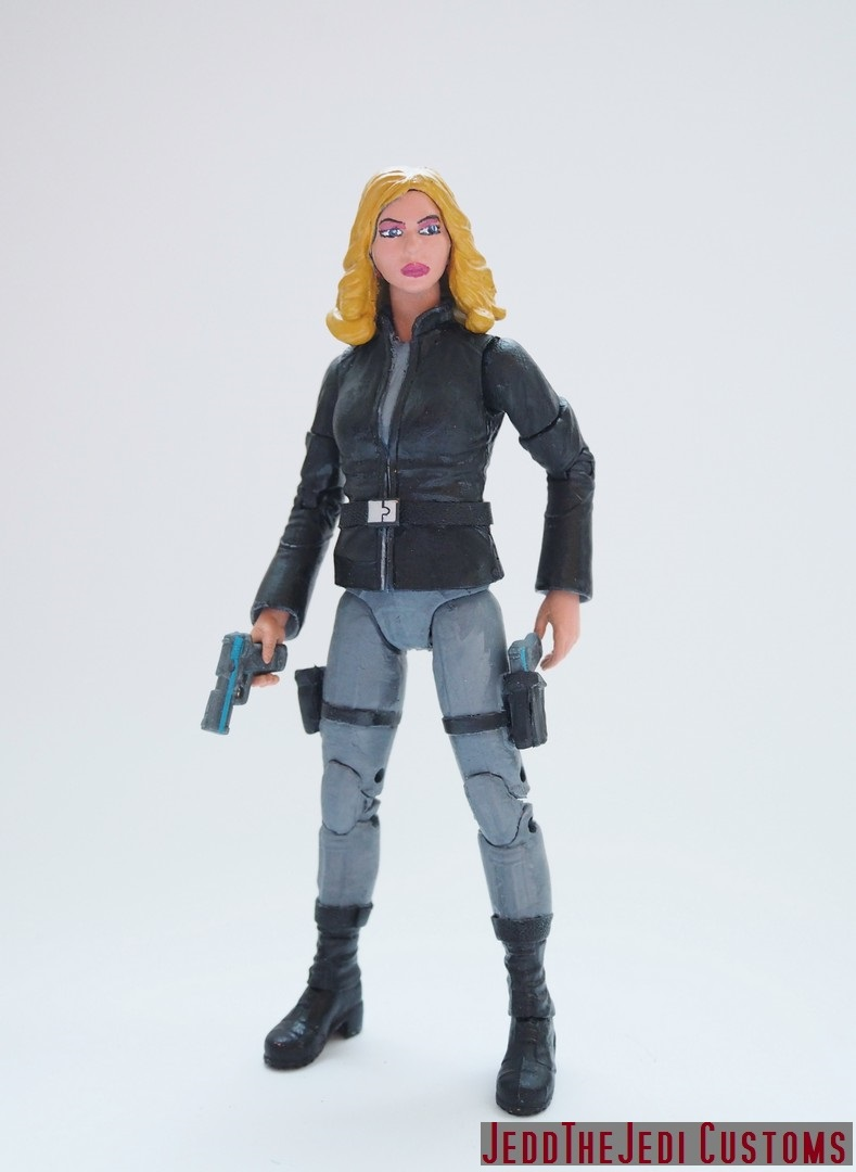 Agent Carter Toys : Sharon carter agent custom action figure by jedd the