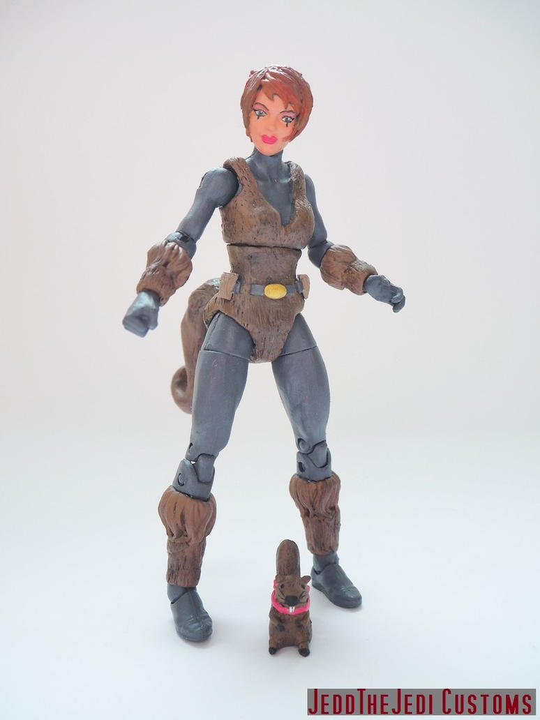 Squirrel Girl custom action figure by Jedd-the-Jedi