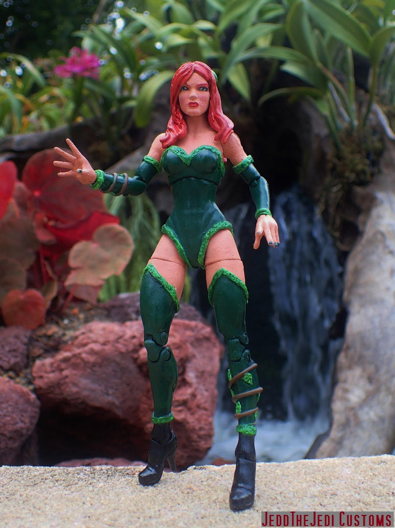 Poison Ivy custom action figure by Jedd-the-Jedi