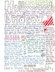 Hollywood Undead by AmazingRandomGirl96