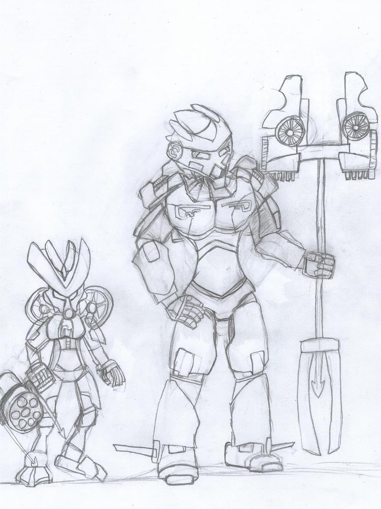 Bionicle 2015 Water Sketch By Gk733