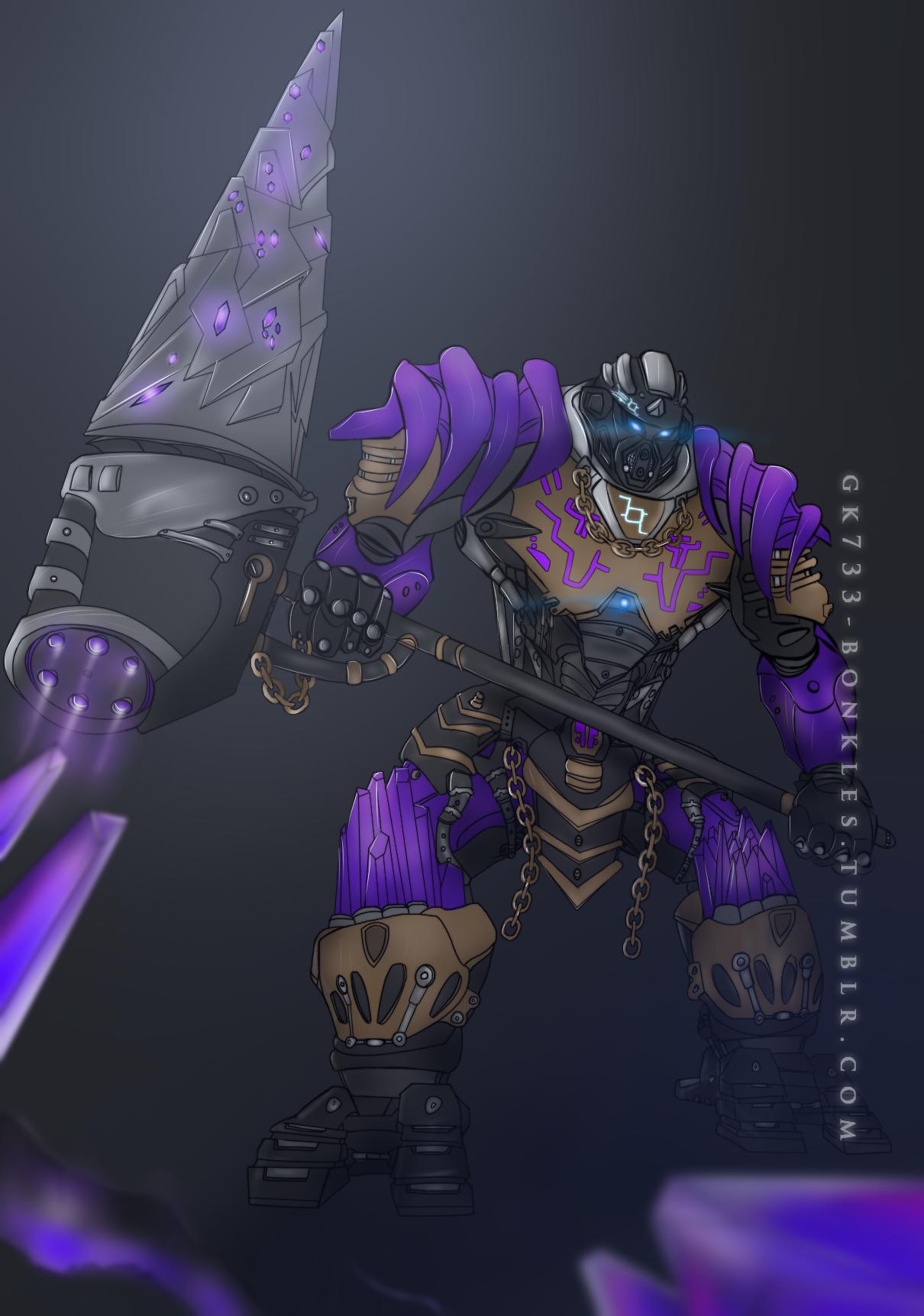 Bionicle Onua Uniter Of Earth By Gk733 On Deviantart