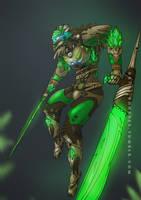 BIONICLE: Lewa, Uniter of Jungle by gk733