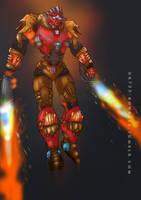 BIONICLE: Tahu, Uniter of Fire by gk733