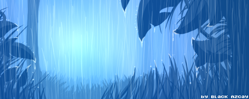 Blue Rain by Kanji51