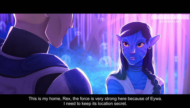 Crossover Avatar + Star Wars