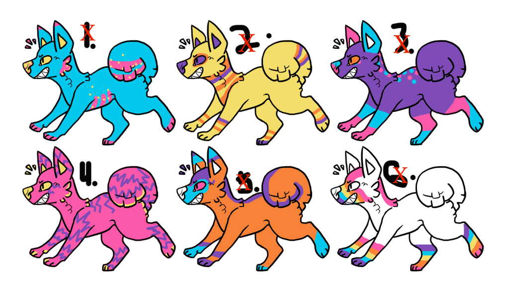 Cheap Pinata Dogs: ONE LEFT by Aliyah-Adopt
