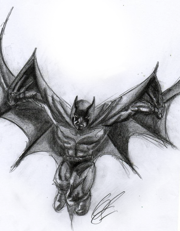 Batman by Lunell