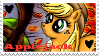 Applejack (Autumn's Last Apple) Stamp by Lunell