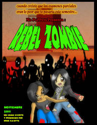 Rebel zombie poster oficial