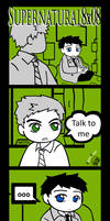 SPN : 8x08 Talk to me. by FlippyFaye