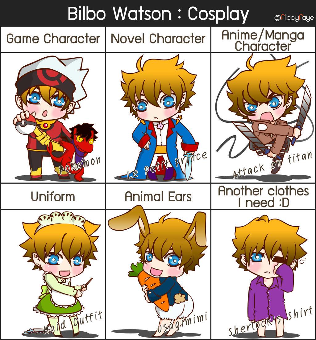 Bilbo Watson 12 : Cosplay by FlippyFaye
