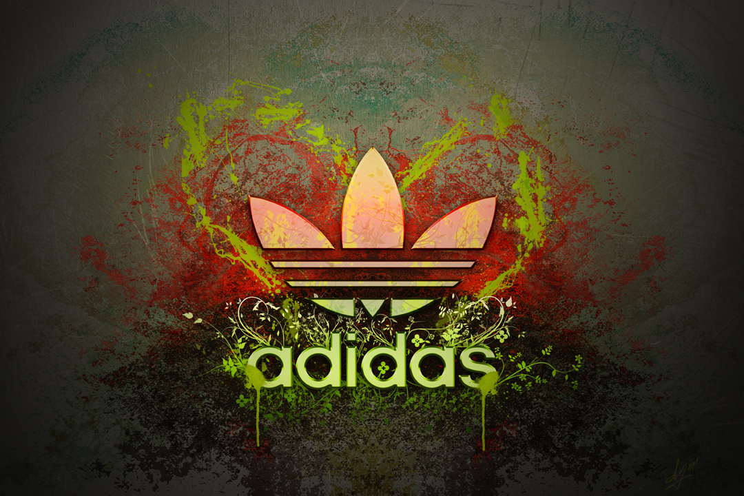 I Heart Adidas by ll-Tek-ll