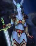 Dreanei In Tyrant Armor set