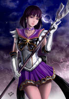 HD Sailor Saturn by raimy329