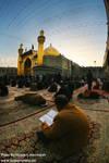 Allah words under faith sky