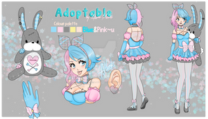 BluePinku - Auction Adoptable 01 : [CLOSED]
