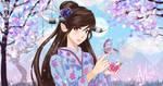Akuma - Butterfly - Kimono by Akuma-Mizuki