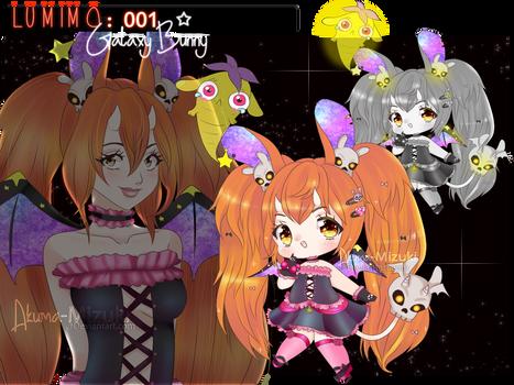 Lumimo 001   Galaxy Bunny   OPEN